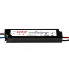 Блок питания для светодиодных лент 24V 12W IP65